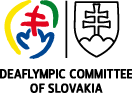 logo Deaflympic Committee of Slovakia